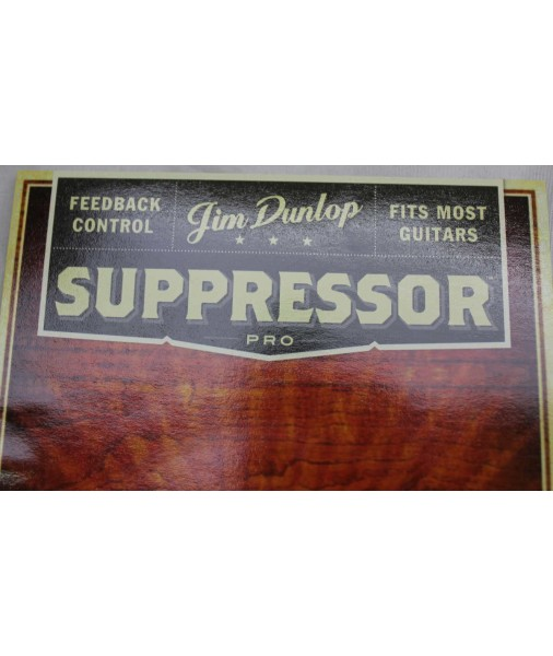 JIM DUNLOP ACOUSTIC GUITAR SUPPRESSOR PRO SOUNDHOLE BUFFER JSP1 DSC311