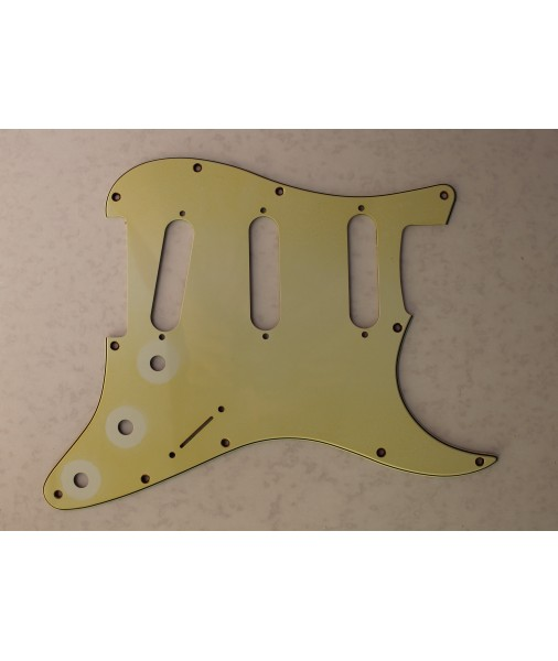 Aged  Mint Green BIKINI ST Pick Guard 11 Hole