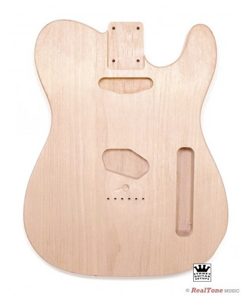 NKY Unfinished Tele Body - Alder 2 Piece