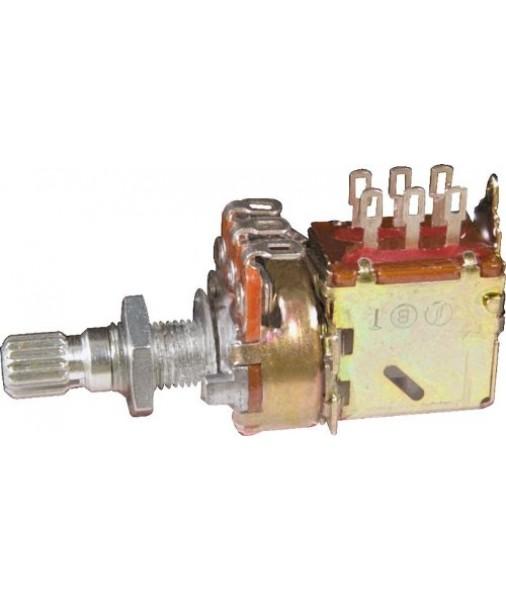 Gibson 500k OHM Audio Taper PUSH/PULL Potentiometer Short Shaft AUS RRP$50
