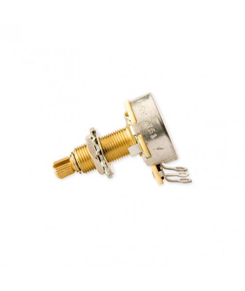 Gibson 500k OHM Audio Taper Potentiometer Long Shaft PPAT-500