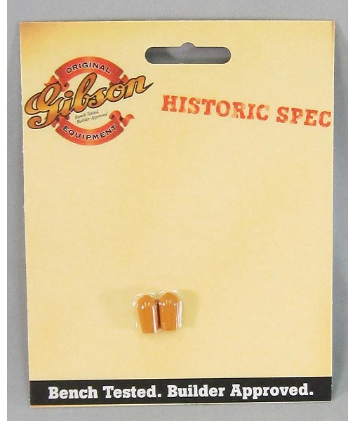 GIBSON Historic Spec 3-way knob Vintage Amber twin pack PRTK-059