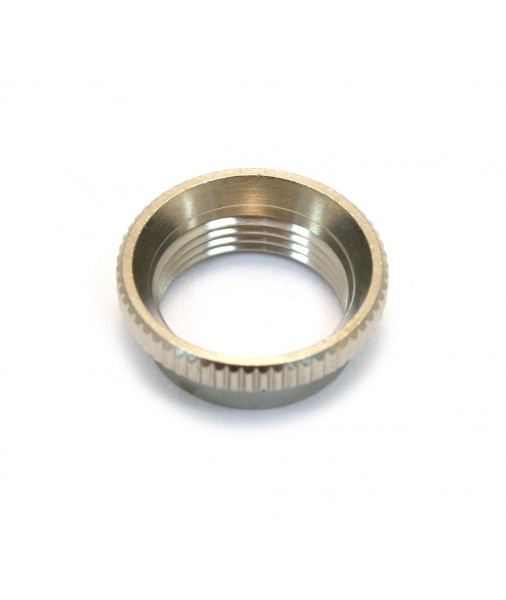 Gibson Deep Thread Nut For Toggle Switch Nickel PSTS-035