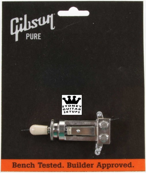 Gibson Genuine 3 Way Switch & Switch Tip Long Shaft PSTS-020