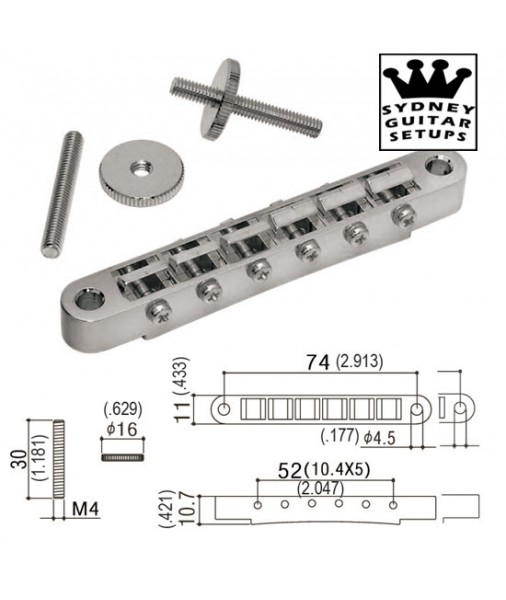 Gotoh ABR1 Bridge Nickel