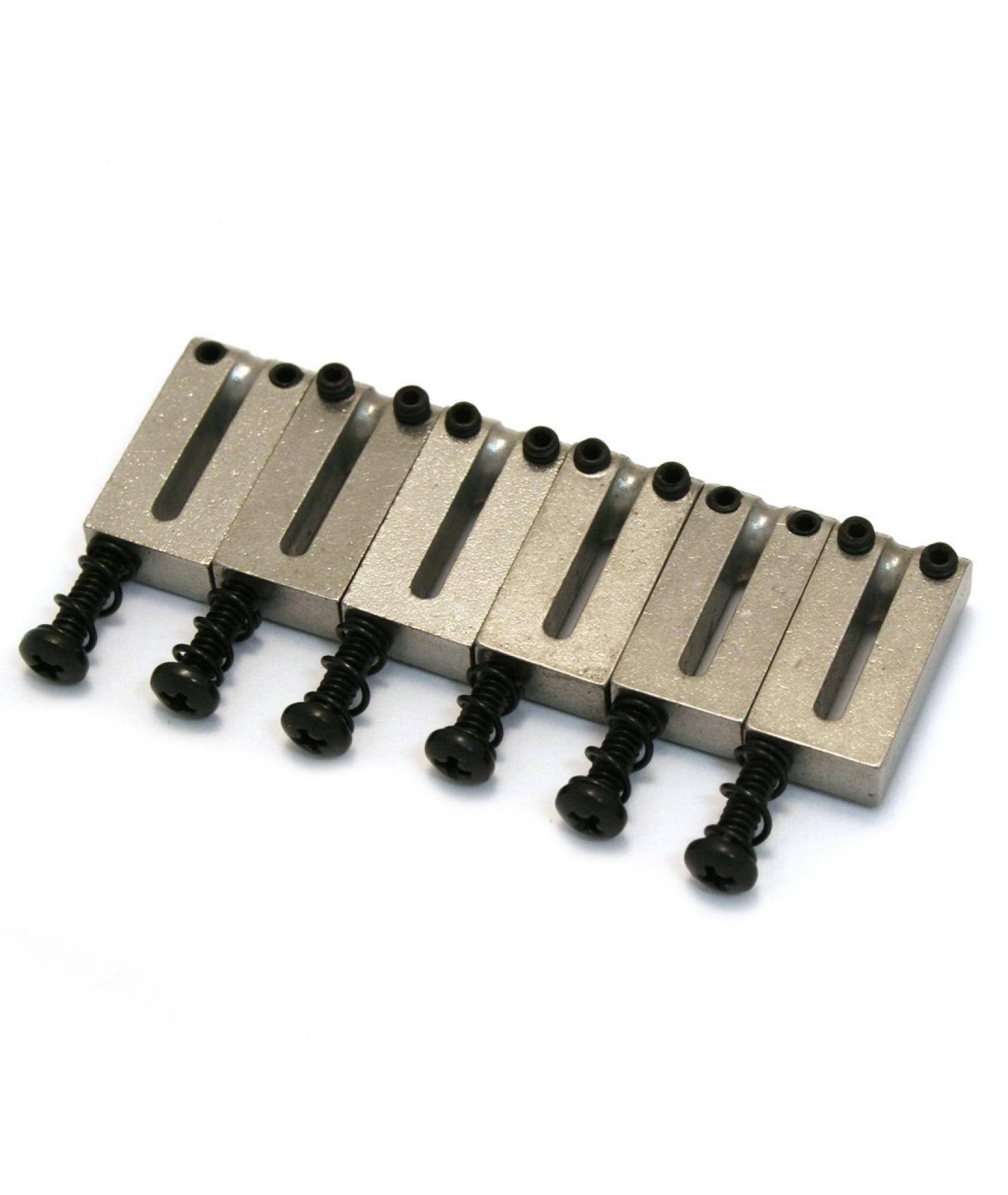 fender bridge saddles american std strat tele w screws x 6 0990840000. Black Bedroom Furniture Sets. Home Design Ideas