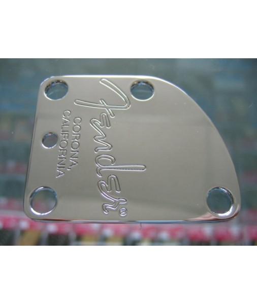 Fender American Deluxe Strat Chrome Neck Plate 0059209000