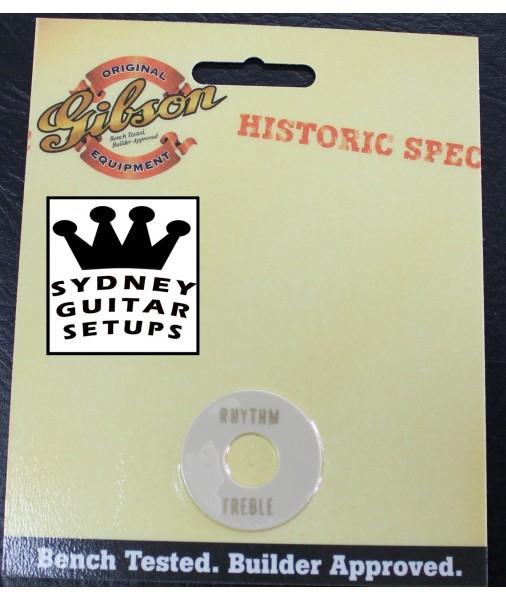 Gibson Historic Spec 1959 3-way Switchwasher Cream with Gold AUS RRP $62 PRWA-059