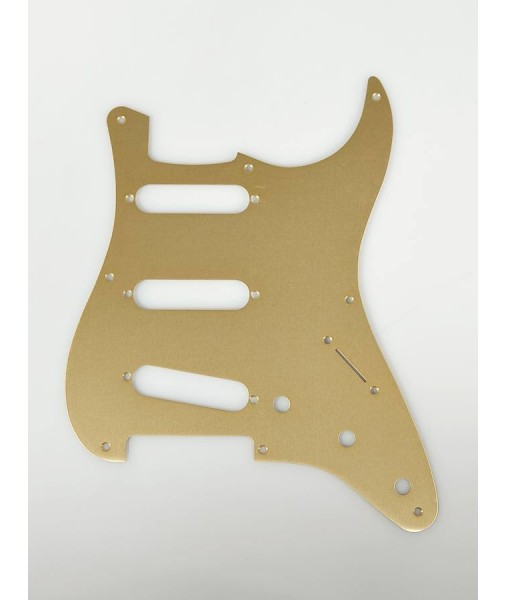 Fender Pickguard, '57 Strat, 8 Hole, Gold Anodized Aluminum 0992143000