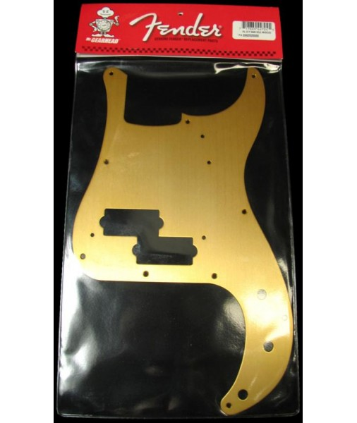 FENDER 57 P Bass pickguard Gold Anodized 0992020000