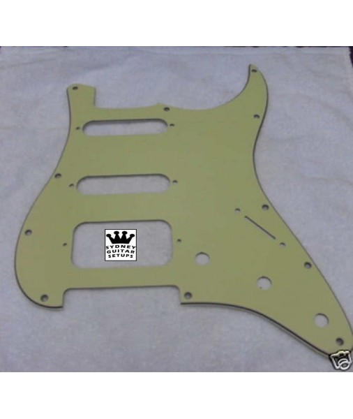 Bikini USA Fat ST - Lone Star SSH Pickguard Mint Green