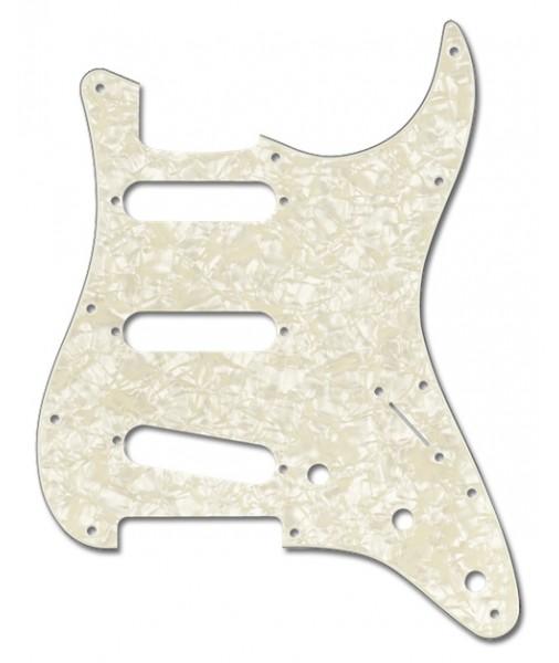 FENDER Strat pickguard whit pearl AM STD 11 hole 0992140001