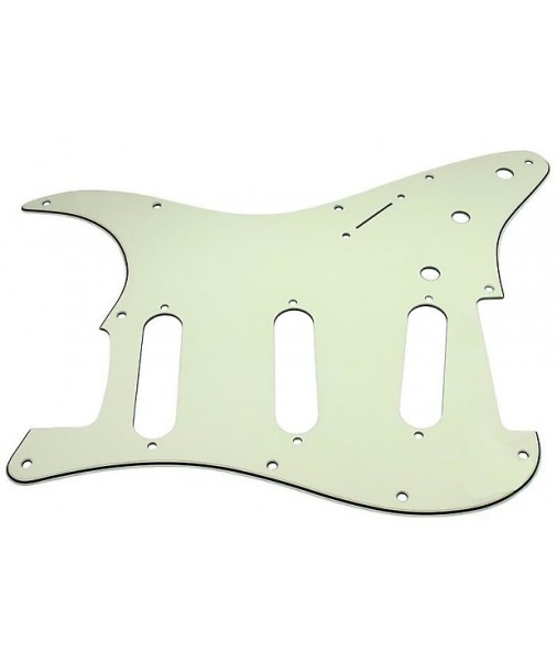 Mint Green FENDER STD STRAT 11 HOLE 3 PLY 0992144000