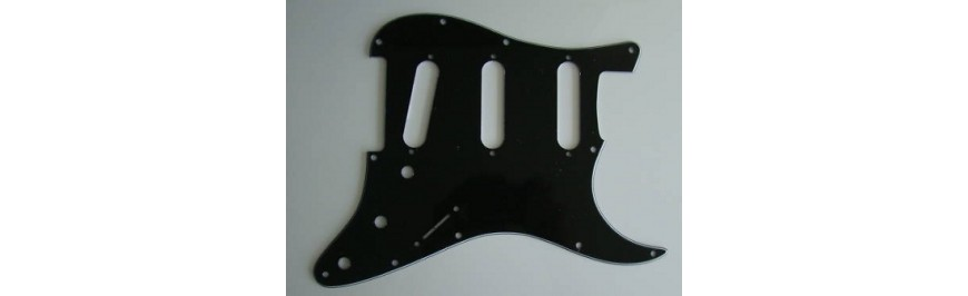 11 Mounting Holes for Strat USA Standard