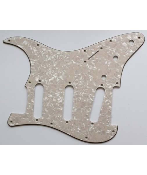 Bikini ST Pickguard 1962 reissue with off-set screw hole Cream Pearl