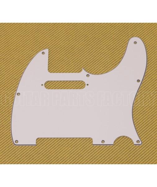 Fender Pickguard, American Standard Tele, White, 3 Ply 0991355000