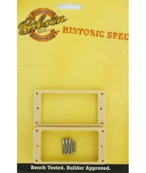 Gibson Historic Spec Pickup Rings Set Creme Neck + Bridge PRPR-035