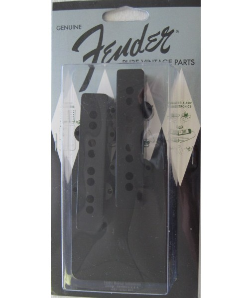Pure Vintage Jazz Bass Plastic Pickup Cover Set 0992038000