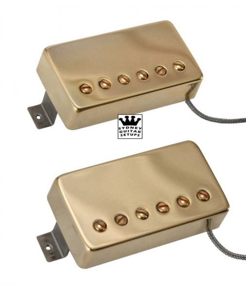 Air Classic SET Metal Gold DP190G + DP191G DiMarzio