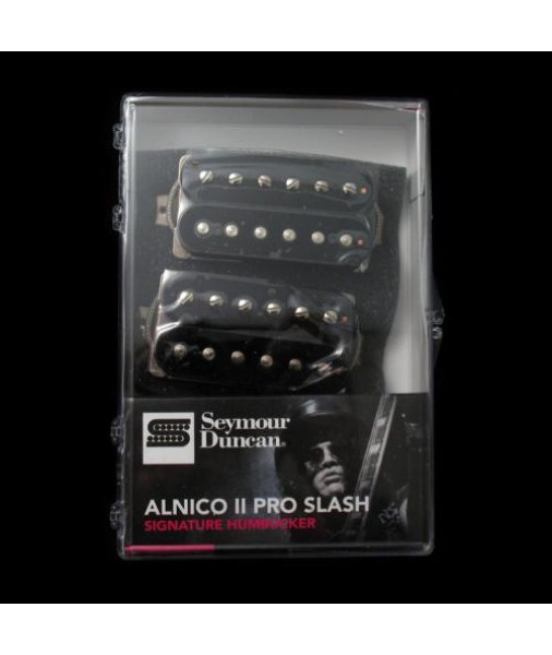 SEYMOUR DUNCAN Slash alnico 2 Pro set Black SD-APH-2SB