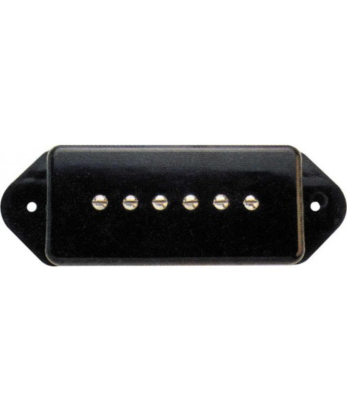DiMARZIO SOAPBAR black dog ears DP167D