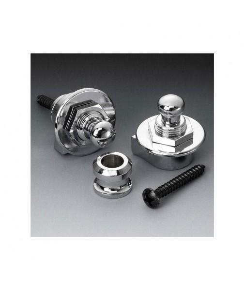 SCHALLER Strap Locks Chrome Set 10715 14010201