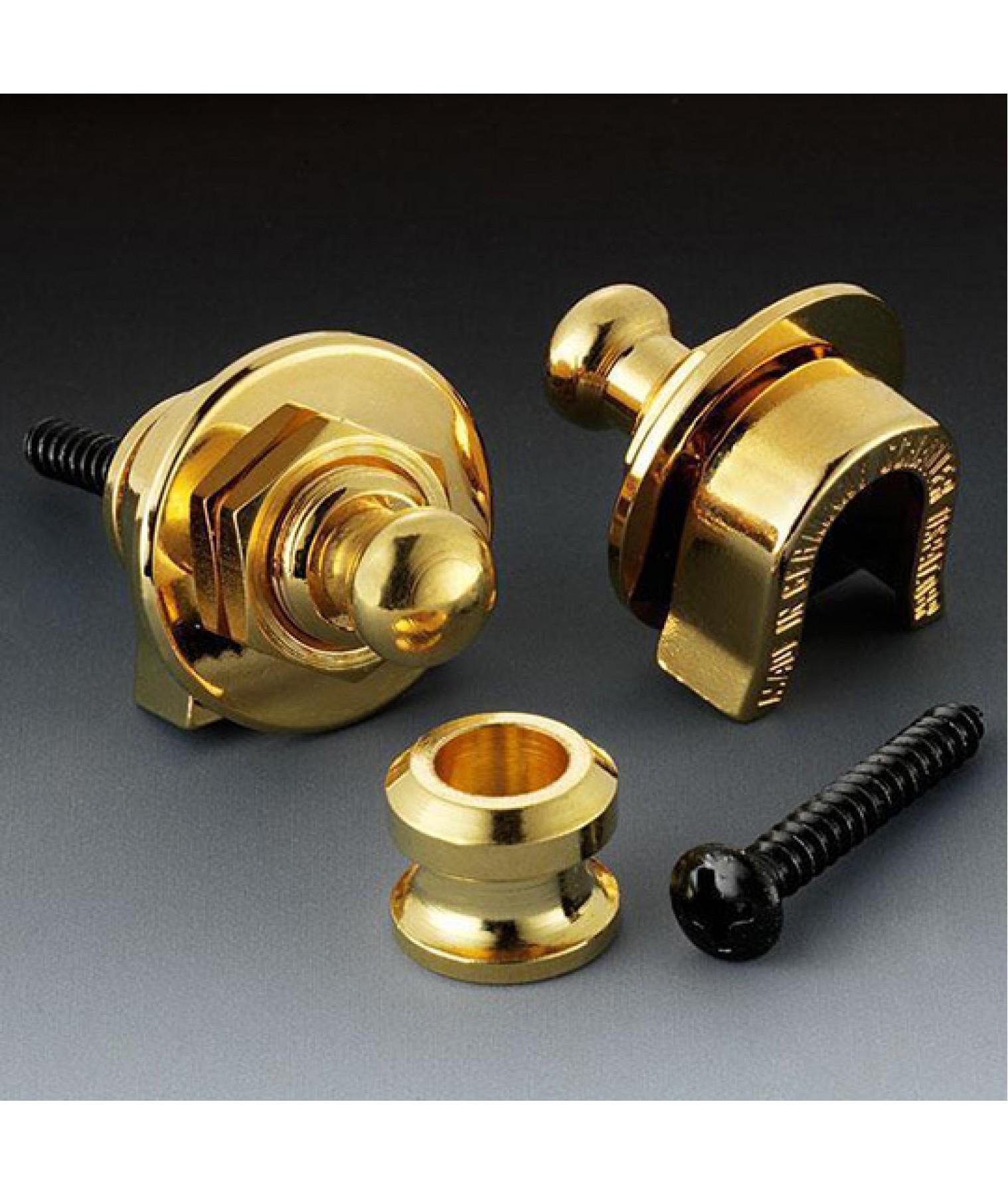 Schaller Strap Lock : schaller strap lock set gold 10730 14010501 ~ Vivirlamusica.com Haus und Dekorationen
