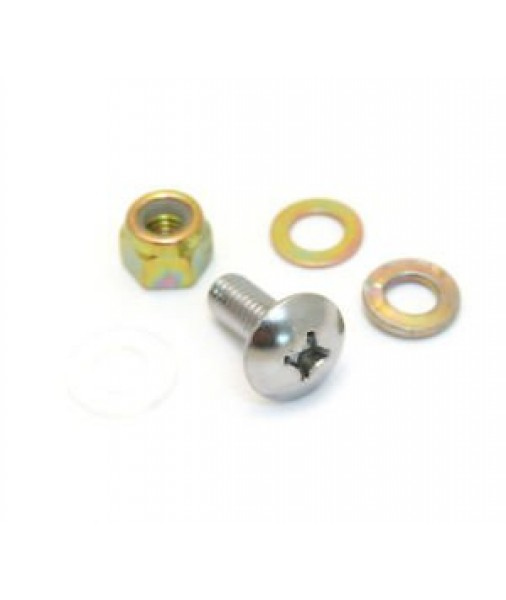 Bigsby Hardware Set for Attaching  -Arm , Screw, Nut and Washers, Nickel