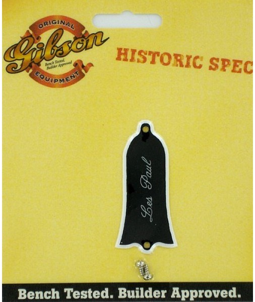 Gibson Guitar Historic Spec '61 Truss Rod Cover Black PRTR-061