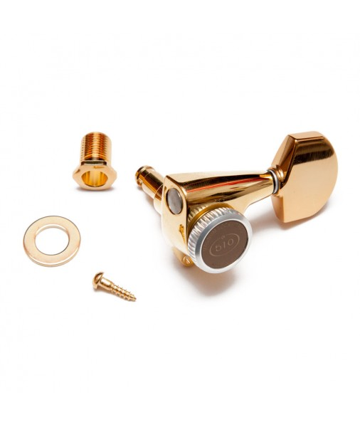 Gotoh SG381 MGT '3 a Side' Locking Tuning Key Set - Gold GTSG381MGT-302