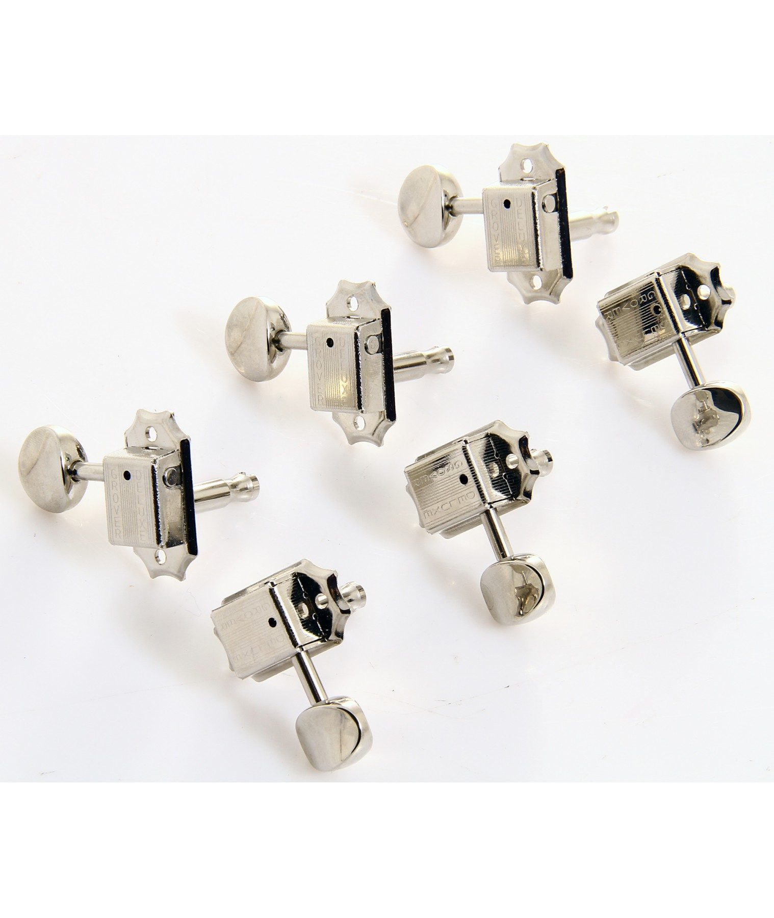 grover deluxe vintage series 3 a side kluson button 14 1 ratio nickel 133n. Black Bedroom Furniture Sets. Home Design Ideas