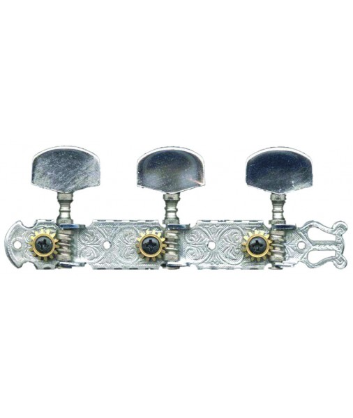 BIKINI 3 on a rack tuners chrome engraved metal button 518