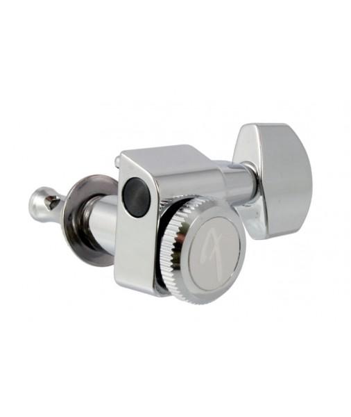 fender locking tuners for strat tele chrome 2 pin mount 090818100. Black Bedroom Furniture Sets. Home Design Ideas