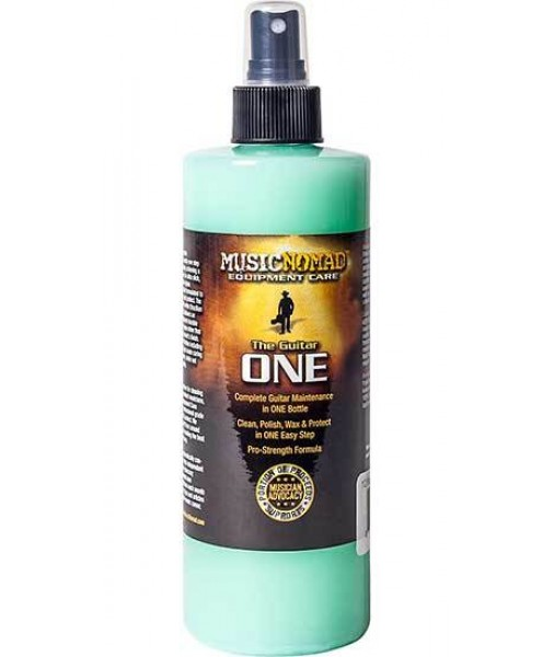 Music Nomad All In One Guitar Cleaner, Polish & Wax -360ml MN150