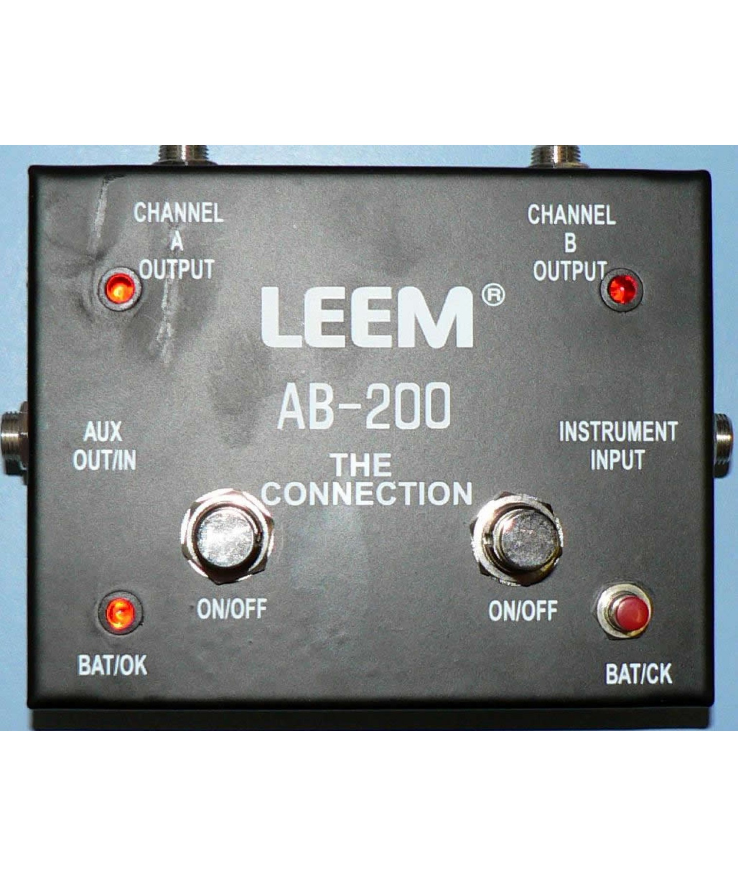 Leem Pro Deluxe Double Switching Box Channel A Amp B Ab 200 Switch Diagram