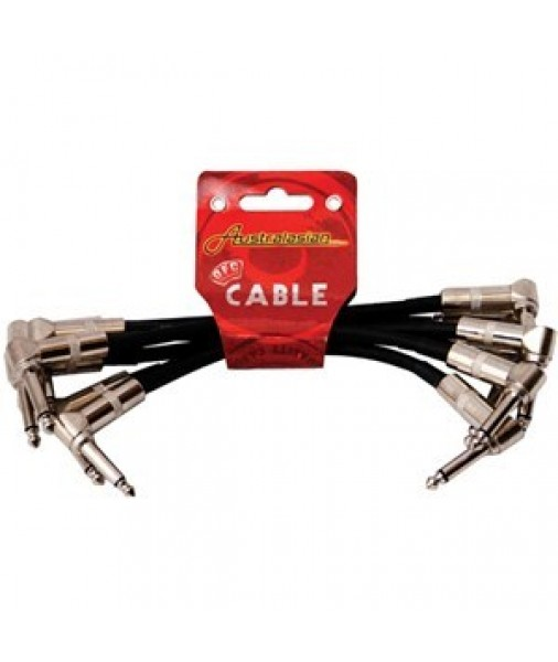 "AUSTRALASIAN 12"" PATCH CABLE 6 PACK AMS630"