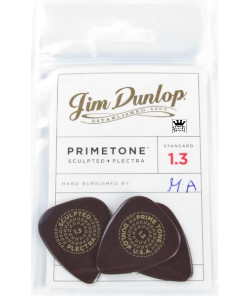 1.3mm Dunlop.Ultex Primetone Players Pack. Standard shape JPP230 511P1.3