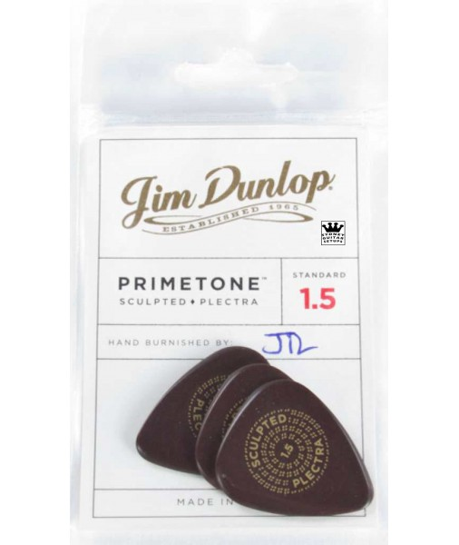 1.5mm Dunlop.Ultex Primetone Players Pack. Standard shape JPP250 511P1.5