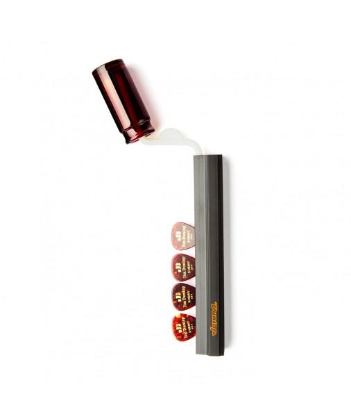 """Jim Dunlop Slide & Pick holder for Microphone Stand - 7"""" Long - J5015"""