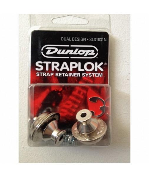 DUNLOP Strap locks set nickel-push J103N