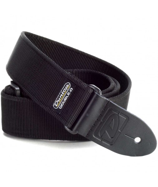 Dunlop Solid Black Strap Extra Long  DD40