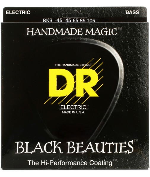 DR BASS 5 STRINGS BLACK BEAUTIES 45 TO 125 BKB5-45