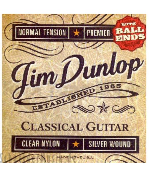 DUNLOP CLASSICAL SET NORMAL TENSION BALL END DPV102B DCP8