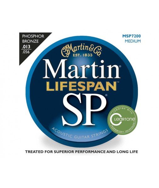 Martin SP Lifespan Phosphor Bronze Treated Acoustic 13 TO 56