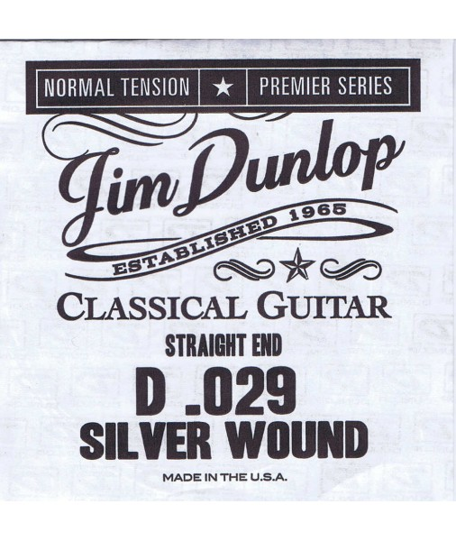 Dunlop Premiere D 4th string single classical