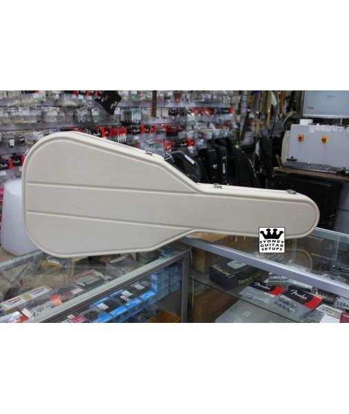 Hiscox Acoustic Standard Case Ivory HISSTDACIV
