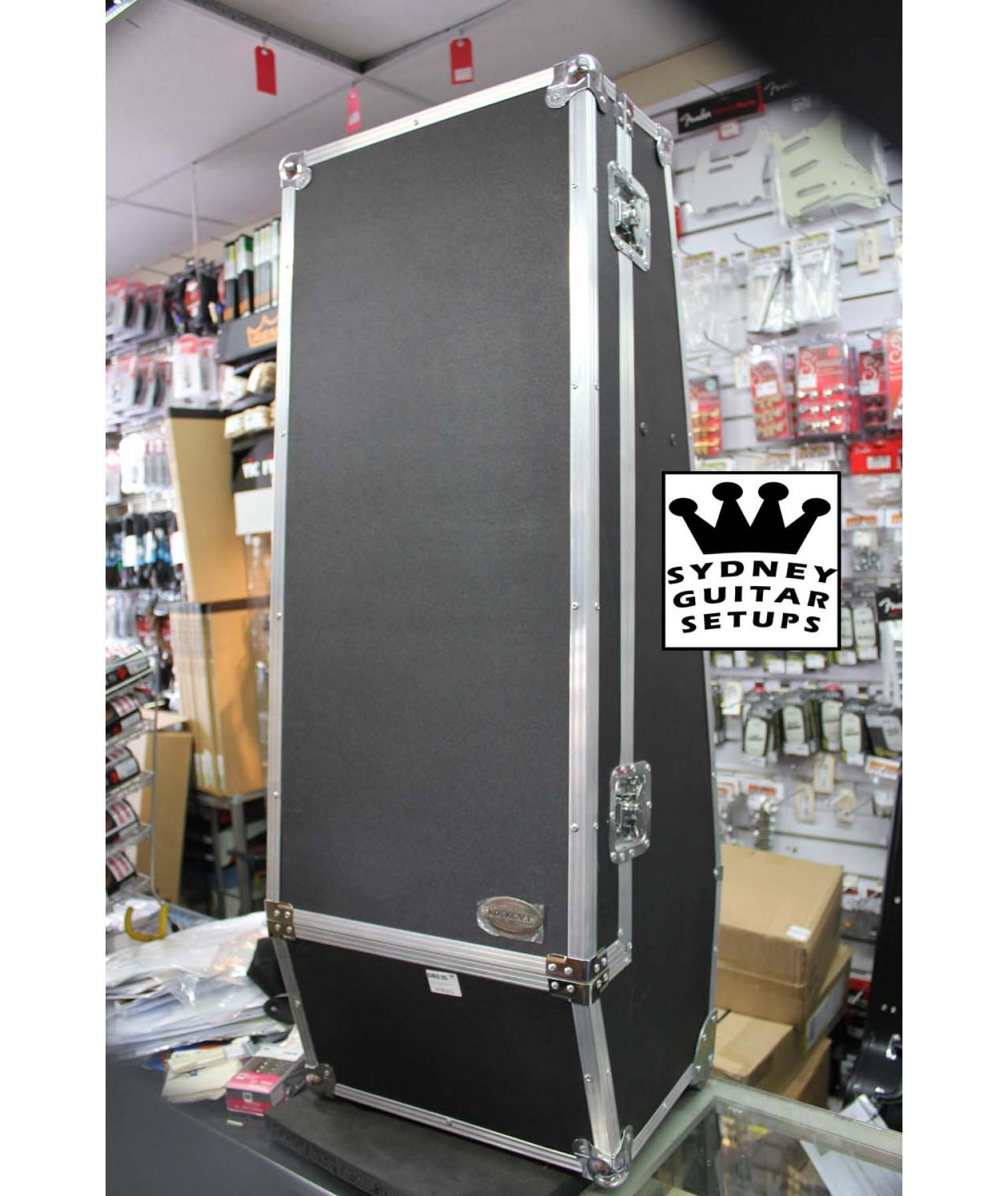 Rockcase 3 guitar chest flight case black rc10860 gu fl for Road case paint