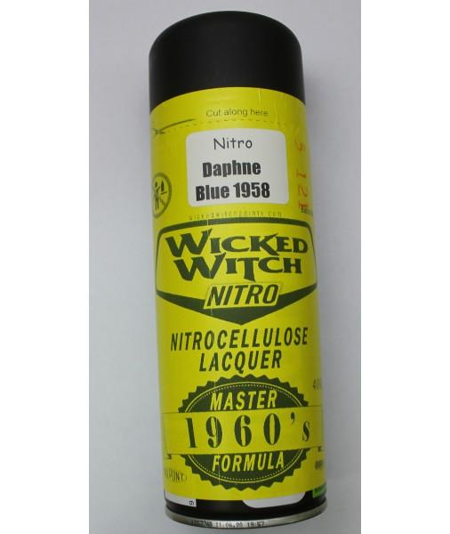 Nitrocellulose Daphne Blue Lacquer 400g aerosol spray can