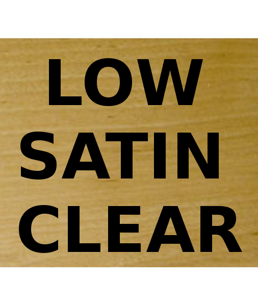 Low Satin Clear Nitrocellulose Lacquer 400g aerosol spray can