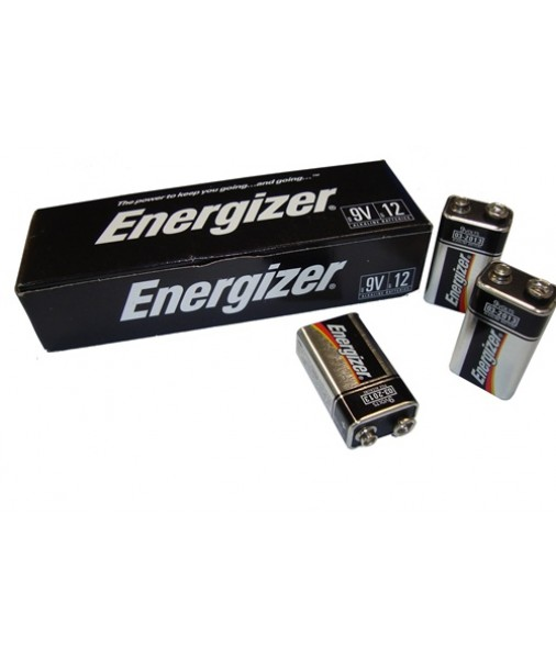 ENERGIZER 9V BATTERY BOX OF 12 RRP $83.40